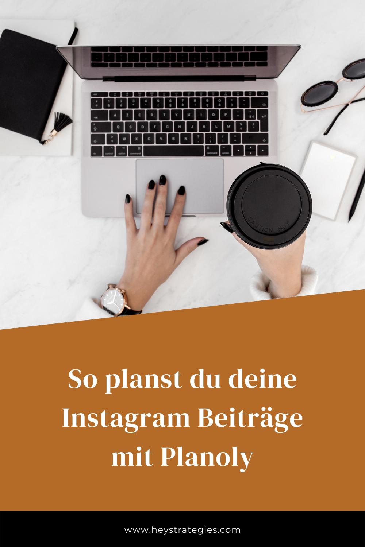 Instagram-Beiträge planen mit Planoly
